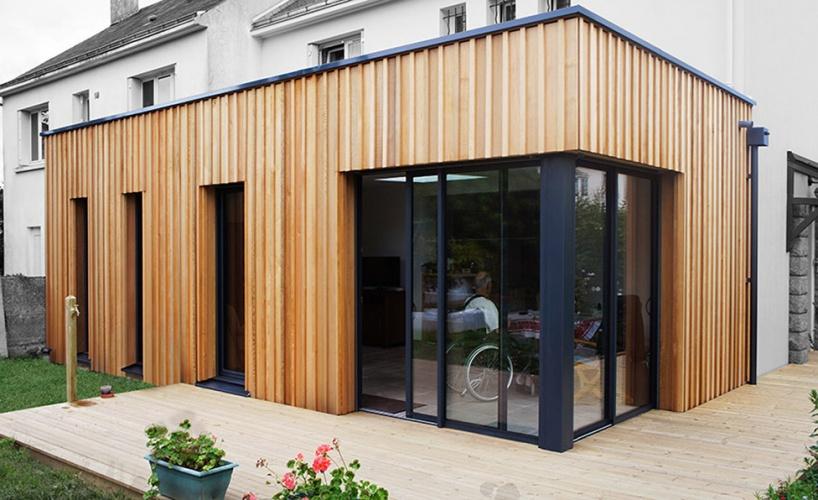 Extension et mise en accessibilité d'une maison à Petit Port - Nantes : MKH-architecte-Nantes-Extension-05
