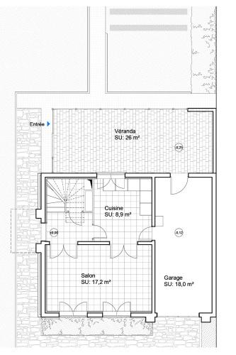Extension et mise en accessibilité d'une maison à Petit Port - Nantes : MKH-architecte-Extension-Nantes-Petit-port-44