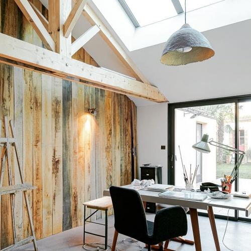 Rénovation d'une maison inscrite au patrimoine : 04