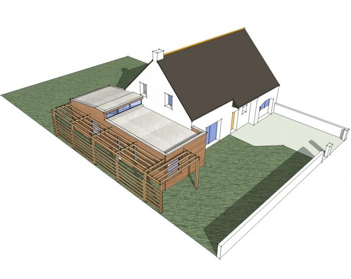 Extension d'une maison d'habitation (44)