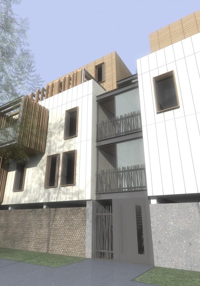 les nids saumur une r alisation de rdb architectes. Black Bedroom Furniture Sets. Home Design Ideas
