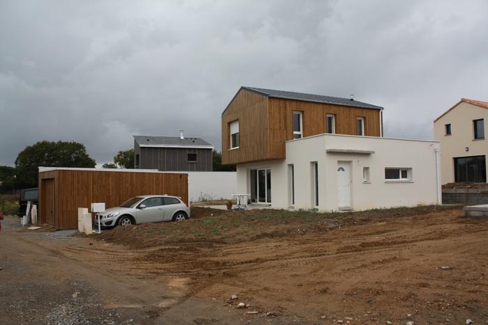 Projet  d'une maison d'habitation  BBC à ST Marc sur mer 44 : photo 008