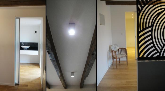 Aménagement intérieur - Projet P+P : 6- amenénagement intérieur maison suite parentale rennes bretagne 35 architecte rennes renovation maison lise roturier 2.2vues