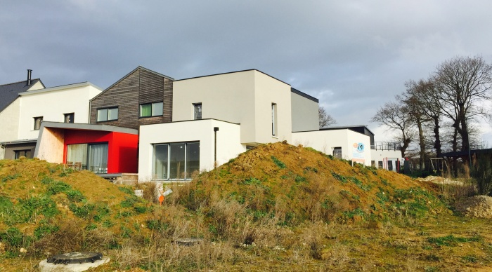 Maison neuve LS+H : 5- Maison architecte rennes maison maitre d\'oeuvre rennes architecte 35 ille et vilaine agence 2.2 vues servon sur vilaine