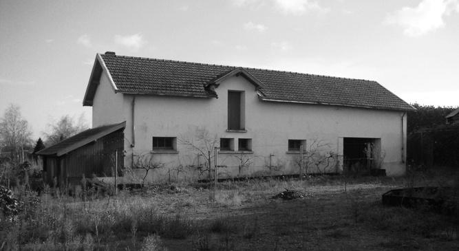Réhabilitation d'une grange  en maison d'habitation : longere avant